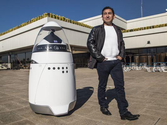 Microsoft contrata robots para vigilar su campus en Silicon Valley