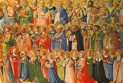 Día de todos los santos en España