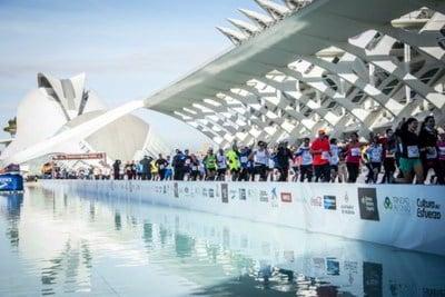 Maratón de Valencia España