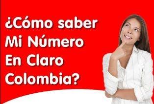 Saber número Claro Colombia