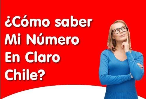 cómo saber mi número claro Chile
