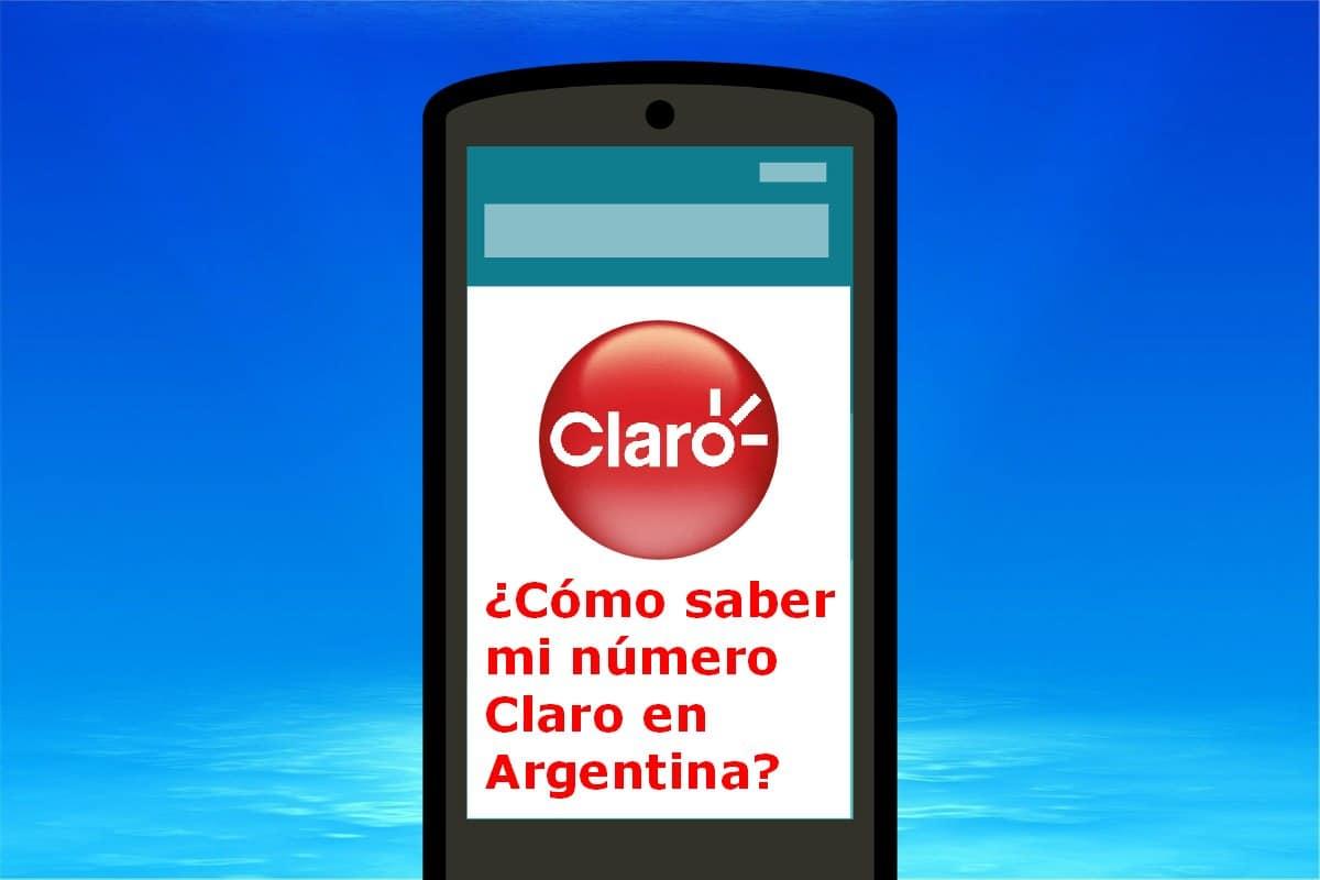número de Claro Argentina