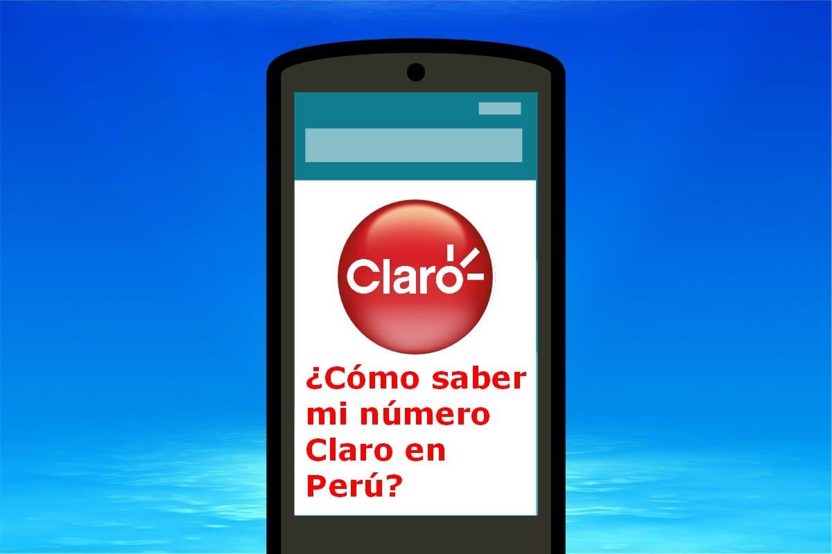 número de Claro Perú