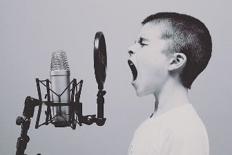 enseñar a cantar a niños