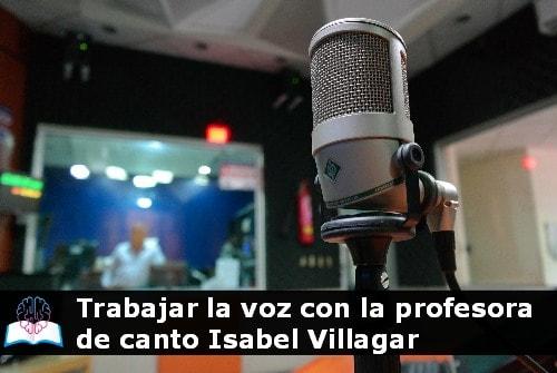 profesora de canto Isabel Villagar