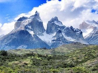las tres torres del paine en Chile