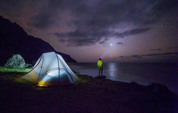 camping en familia